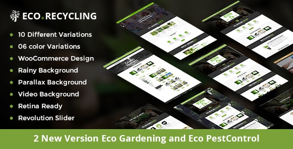 Eco Recycling - A Multipurpose Template - Retail Site Templates