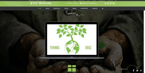 Eco Recycling - A Multipurpose Template