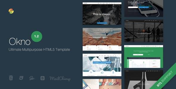 Okno - Ultimate Multipurpose HTML5 Template