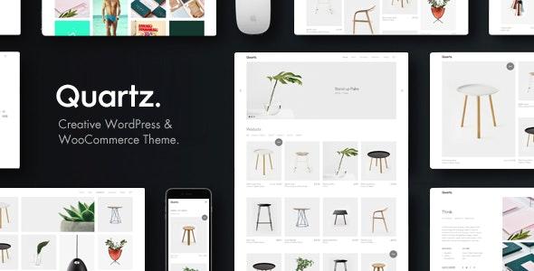 Quartz - Creative WooCommerce & WordPress Theme - WooCommerce eCommerce