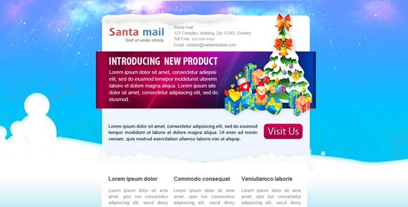 SantaMail - Newsletter - Email Template