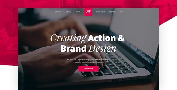 Krita - Creative Agency Muse Template - Creative Muse Templates