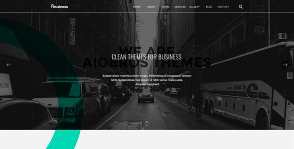 ABusiness PSD Template