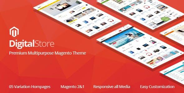 Digitalstore - Responsive Magento 2 Theme