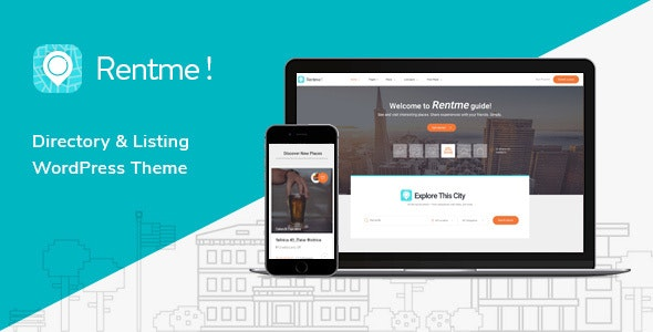 Rentme - Directory & Listings Multipurpose WordPress Theme - Directory & Listings Corporate