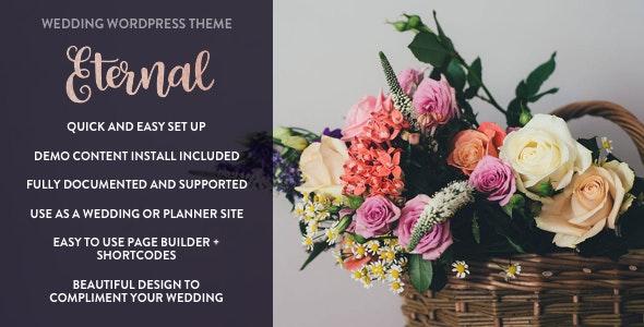 Eternal - Responsive Wedding WordPress Theme - Wedding WordPress