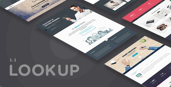 LookUp - Responsive Multi-Purpose HTML5 Template - Creative Site Templates