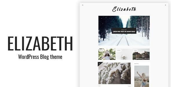 Elizabeth - Blog Theme for WordPress - Blog / Magazine WordPress