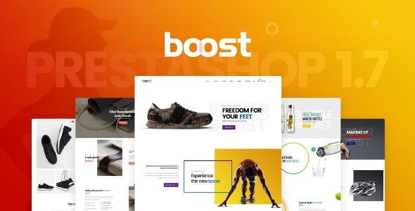 Pts Boost - Premium Parallax Single Product Prestashop 1.7 Theme - PrestaShop eCommerce