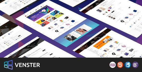 Venster - Computer Woocommerce WordPress Theme - WooCommerce eCommerce