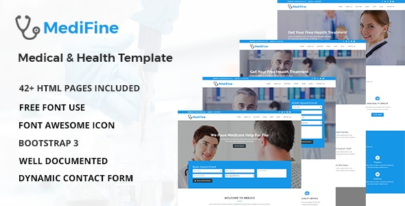 MediFine - Health and Medical HTML Template - Health & Beauty Retail
