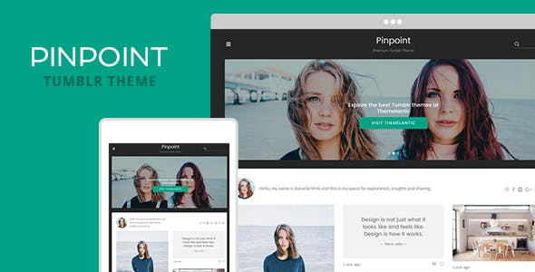 Download Pinpoint Tumblr Theme