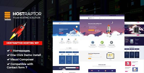 Host Raptor - Hosting Domain WordPress - Hosting Technology