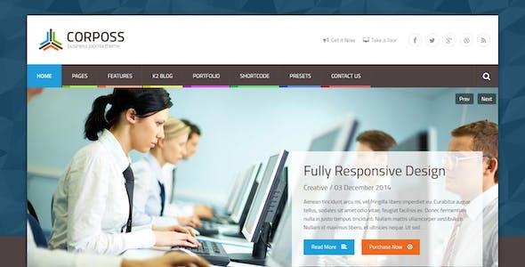 Corposs - Responsive Business Joomla Template