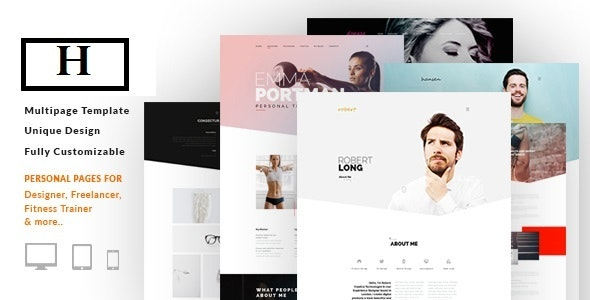 Hej - Multi-Purpose Landing Page - Creative Landing Pages