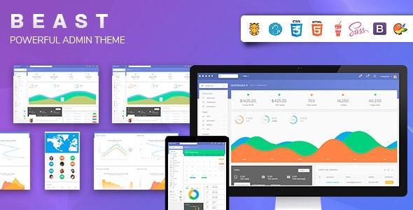 Bootstrap 4 Admin Template - Admin Templates Site Templates