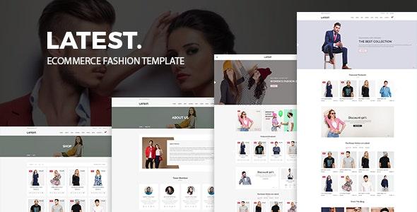 Fashion Store HTML Template - Latest - Fashion Retail
