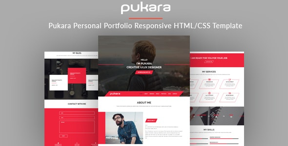Pukara - Personal PortfolioTemplate - Portfolio Creative