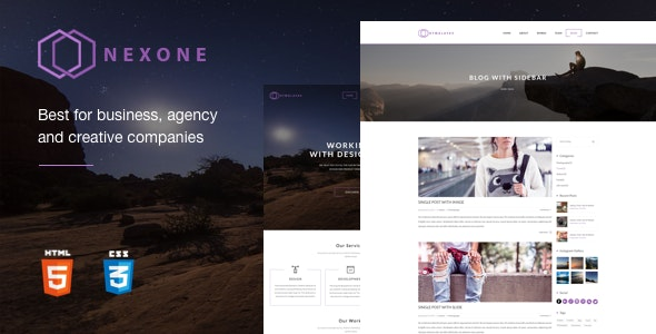 NexOne best Business and Creative Studio Template - Creative Site Templates