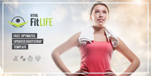 FitLife professional html template