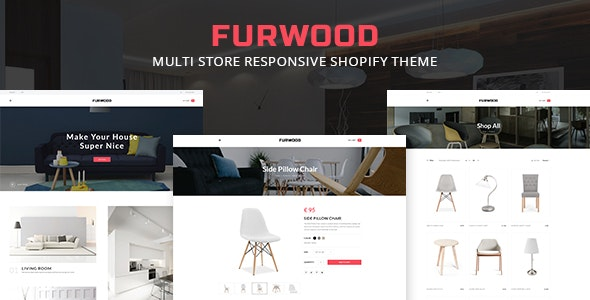 FurWood - Multi Store Responsive Shopify Theme - Shopify eCommerce