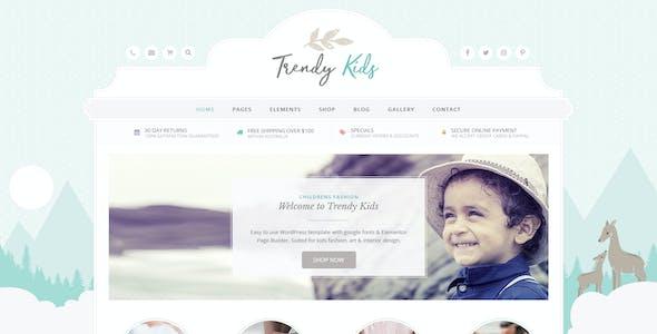 Trendy Kids Photoshop