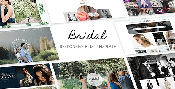 Bridal - Responsive HTML5 Template - Retail Site Templates