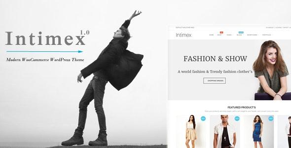 Intimex - Modern WooCommerce WordPress Theme - WooCommerce eCommerce