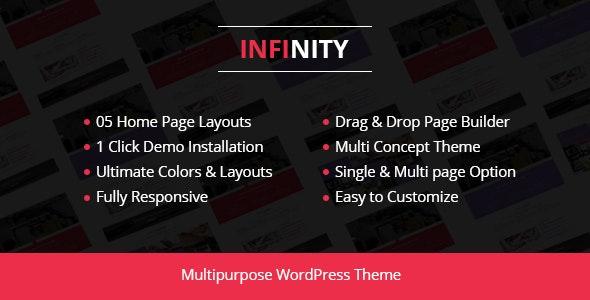 Infinity - Corporate Business WordPress Theme - Business Corporate
