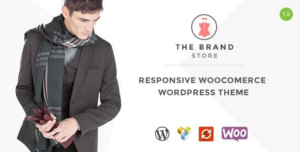 The Brand - Responsive WooCommerce WordPress Theme - WooCommerce eCommerce