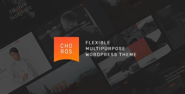 Choros — Responsive Multipurpose WordPress Theme
