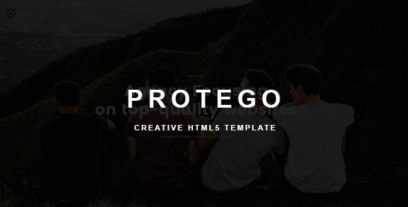 Protego - Creative Multipurpose HTML Template - Portfolio Creative