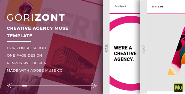 Gorizont - Creative Agency Muse Template - Creative Muse Templates