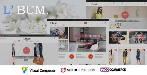 L'bum - Responsive WooCommerce Theme - WooCommerce eCommerce