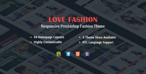 Love Fashion - Multipurpose Responsive PrestaShop Theme - Fashion PrestaShop