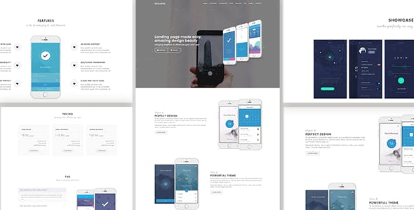 Decades - App Showcase & App Store WordPress Theme