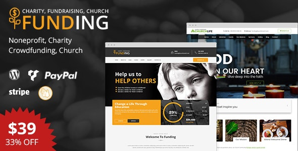 Funding - Nonprofit WordPress Theme - Nonprofit WordPress