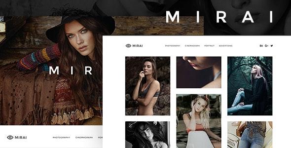 Mirai - Portfolio Muse Template - Creative Muse Templates