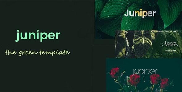 Juniper - Creative Multi Purpose Template - Creative Site Templates