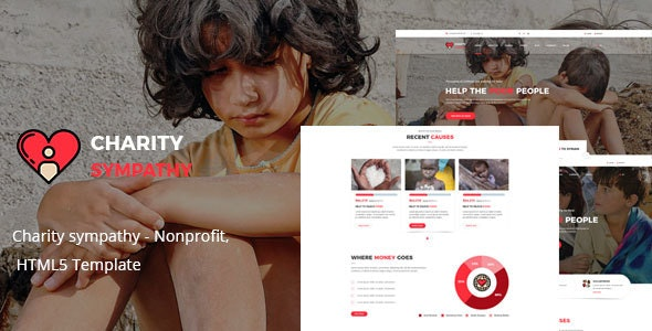 Charity sympathy - Nonprofit, Donation, Charity HTML5 Template - Charity Nonprofit