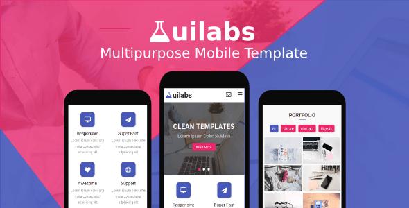 Uilabs - Multipurpose Mobile Template