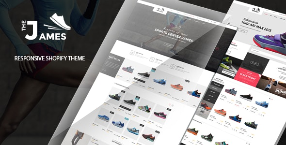 James - Responsive Shoes Shopify Theme - Sectioned - Fashion Shopify