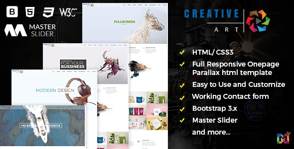 Creative Responsive Multipurpose Agency - Creative Site Templates