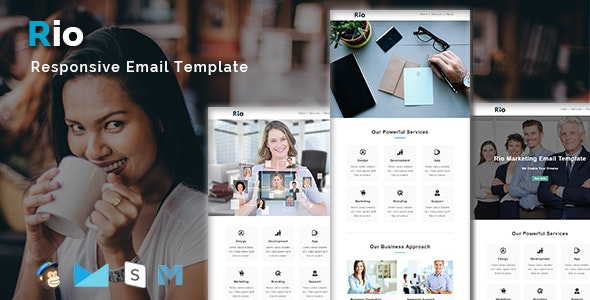 RIO - Multipurpose Responsive Email Template - Email Templates Marketing