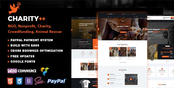 Nonprofit Charity - Nonprofit WordPress
