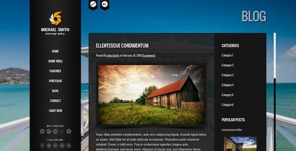 BIG Gallery - Fullscreen Photography Portfolio