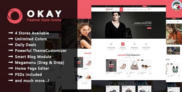 Okay - Responsive Prestashop Theme - Fashion PrestaShop