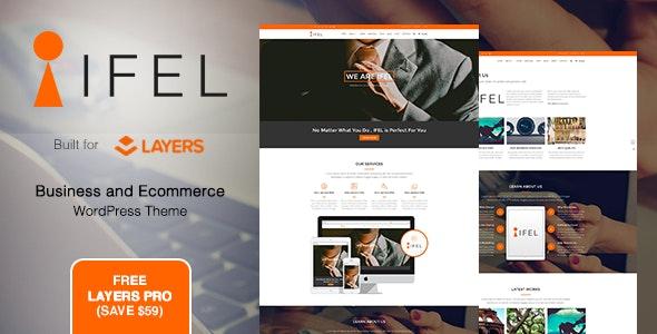 IFEL | Business - Ecommerce WordPress theme - Business Corporate
