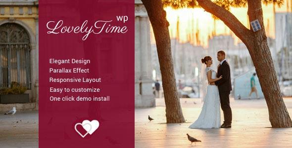 LovelyTime – Engagement & Wedding WordPress Theme - Wedding WordPress