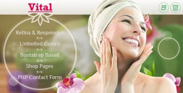 Vital | Beauty and Health HTML Template - Health & Beauty Retail